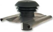 CTA 160 B PVC tetősapka, antracit fekete