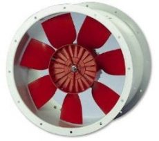 Helios HRFD 355/4 EX Axiális csőventilátor, Robbanásbiztos kivitel