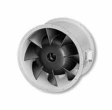 Helios VARD 500/4/4 RADAX félaxiális csőventilátor