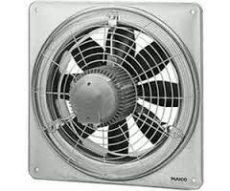 Maico EZQ 20/2 B Axiál fali ventilátor négyszögletes fali lemezzel, DN 200, váltóáram  Termékszám: 0083.0102