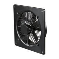 VENTS OV 2E 200 Kis ellenállású rendszerekhez ajánlott, nagy légszállítású fali axiál ventilátor. Fém ventilátorház és járókerék. Na 200.