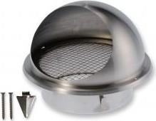 BLR-E-RL 160 Rozsdamentes acél kültéri esővédő rács