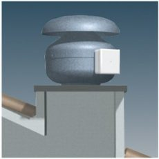 Vortice CA 250 MD E RF tetőventilátor (16186)