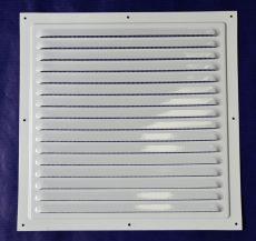 VENTS MVM200 Színterezett fehér esővédő fémrács