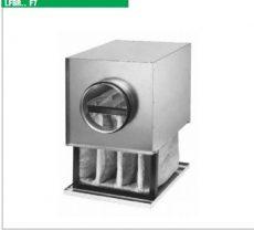 Helios LFBR 125 F7 szűrőbox, F7, pollen szűrővel