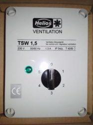 Helios TSW 1,5 5 fokozatú trafós fordulatszámszabályozó