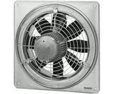 Maico EZQ 50/6 B Axiál fali ventilátor négyszögletes fali lemezzel, DN 500, váltóáram  Termékszám: 0083.0113