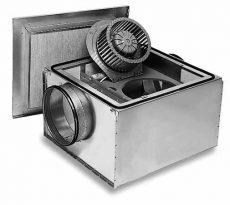 Helios SB 125C SilentBox hangcsillapított radiálventilátor
