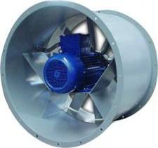 DUCT-M 634/4T-B csőperemes axiál ventilátor