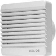 Helios HR 90 KE Kisventilátor elektromos zsaluval, golyóscsapágyas