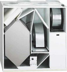 Helios KWL EC 500 W L Hővisszanyerős központi szellőző