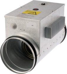 CVA-MPX 160-2400-1f  Elektromos fűtő kalorifer, 0-10V-os külső vezérlővel állítható a hőmérséklet