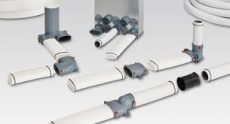 FRS flexibilis csőrendszer NÁ63, 90°-os könyök FRS-B 75/2-63