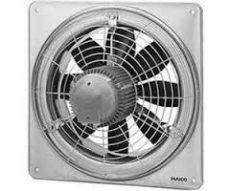Maico EZQ 40/4 B Axiál fali ventilátor négyszögletes fali lemezzel, DN 400, váltóáram  Termékszám: 0083.0115