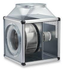 Helios GBD 400/4/4 T120 GigaBox radiálventilátor 120°C hőmérsékletig