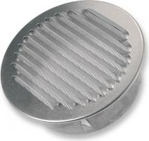 BLR-O-R 100 Kör keresztmetszetű alumínium esővédő rács