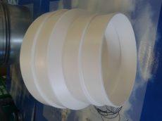 Műanyag lépcsős szűkítő idom NA125/120/110/100