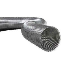 Semiflex Aluvent Félmerev aluminium cső NA160/3m AF160/3