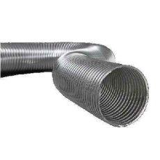 Semiflex Aluvent Félmerev aluminium cső NA200/3m AF200/3