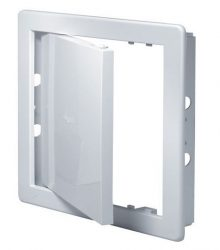 Awenta DT18 műanyag szervizajtó fehér 250X330