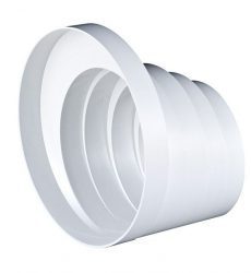 Awenta RKO műanyag lépcsős szűkítő idom NA150/125/120/110/100